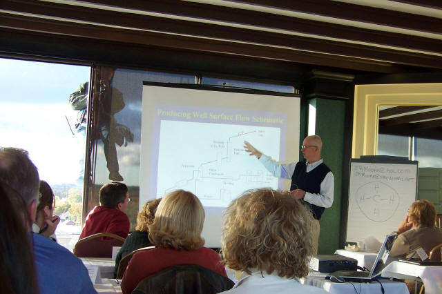 Thanks Dick Moore of PDI for the great class on Introduction to Midstream. 10/21/08